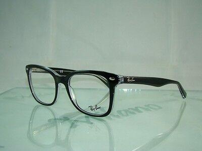 Ray Ban RB 5285 2034 BLACK + Orig Case Glasses Eyeglasses Frames Size 53