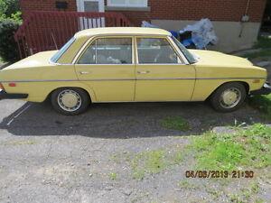 1975 Mercedes-Benz 300-D Classic Car Gatineau Ottawa / Gatineau Area image 1