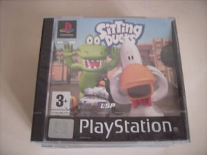 Sitting-Ducks-for-Sony-PlayStation-1-PS1-PS2-PS3-STILL-SEALED-NEW