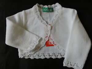 Girls knitted bolero / cardigan