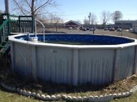 Above Ground Swimming Pool - Excellent Condition