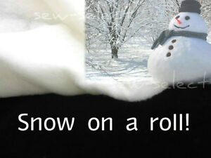 Snow-roll-40mt-x-70cm-EXTRA-THICK-4oz-imitation-fake-snow-Christmas-decoration