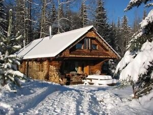 Log Guest Cabin - near Smithers