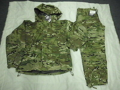NEW GEN III ECWCS MULTICAM  LEVEL 6 GORETEX JACKET & PANTS SET SMALL SHORT