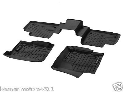 Genuine OEM Mercedes Benz GLE Class Coupe C292 Black All Weather Floor Liners