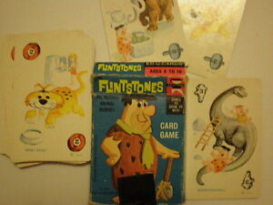 Flintstones rummy card game