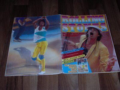 ROLLING STONES -- Die Super Rock-Stars in Deutschland 1982 / Alle LPs / Skandale