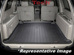 Weathertech Trunk Mat Gmc Yukon Xl Large 2000 2006 Black