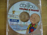 Cd-Rom enfant de Caillou