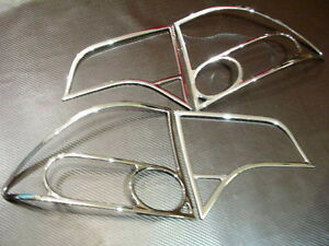 HONDA CIVIC 2006 A 2010 TRIM CHROME TAIL LIGHT MOULURE LUMIERE