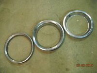 Rally Wheel Trim Rings