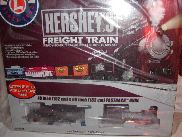 Lionel 6-30196 Hershey's Ready To Run 0-8-0 Steam Train Set O 027 2012
