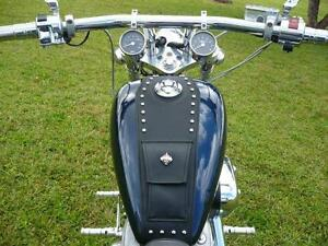 Honda-Shadow-VLX-600-Tank-Bib-Bra-Chap-All-Years-Includes-POCKET-STUDS-only