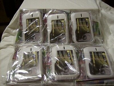 Lot Of 6 Nokia Surge 6790 Case Rubberized Cover Color White / Brand / Sealed