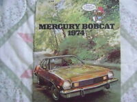 1974 Mercury Bobcat Sales Brochure