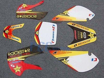 Rockstar 3m Graphic Decals Sticker Kit Klx110 110 U De27