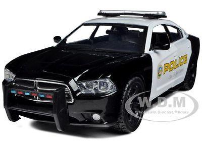 2011 Dodge Charger Pursuit San Gabriel Police Car 1/24 Model By Motormax 76936