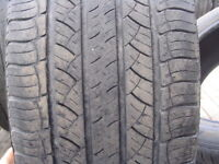 Four Michelin Latitude Tour P235/55/R20 Used Tires