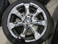 06 20 BMW X5 4.8IS E53 X3 x5 4.4 3.0 E83 OEM CHROME WHEELS RIMS