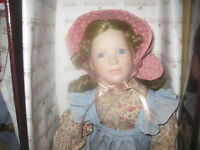 LITTLE HOUSE ON THE PRAIRIE Collectible DOLLS ORIGINAL BOXES
