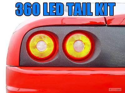 AGT™  LED Stop Light & Backup & Sidemarker Upgrade Kit for Ferrari 360 Modena