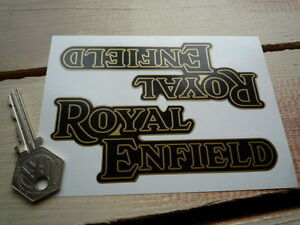 Royal-Enfield-Bullet-Constellation-Continental-STICKERS-5-Pair-Motorcycle-Bike