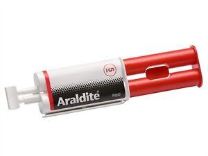Araldite Rapid 24ml Syringe - Strong Adhesive Glue - Solvent Free