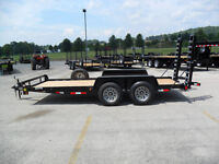 2015  16 ft Equipment, Trailer, Bob Cat, Car Hauler 9990 GVW