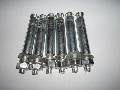 100 Schwerlastdübel M10 M 10 Schwerlastanker Bolzenanker Anker Dübel  Bodenanker