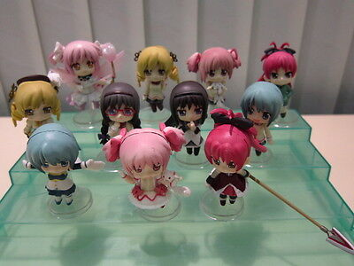 Puella Magi Madoka Magica Kaname Mini Figures Set of 11 pcs on Rummage