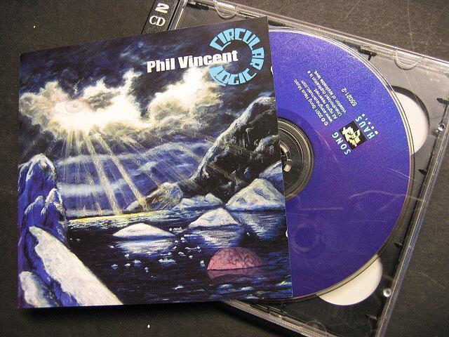 "PHIL VINCENT ""CIRCULAR LOGIC"" - 2 CD"