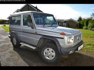 MERCEDES G WAGEN, SWB  SIDE STEPS or RUNNING BOARDS