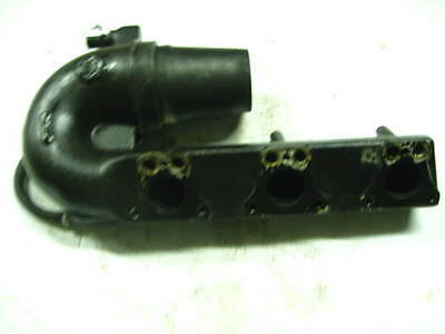 02 POLARIS Genesis 1200 Exhaust Manifold Head Pipe Hose Triple 64 Hours 1260850
