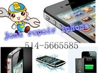 Réparer iphone samsung LG Blackberry Htc écran Lcd repair unlock