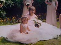 beautiful size 20 ivory wedding dress with long train cost 1200 new