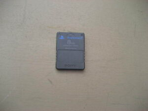 8 mb memory card for sony playstation2  $10