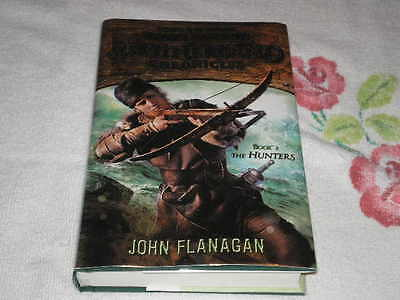 The Hunters : Brotherband Chronicles By John Flanagan Signed
