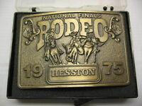 1975 Hesston Collectors Belt Buckle