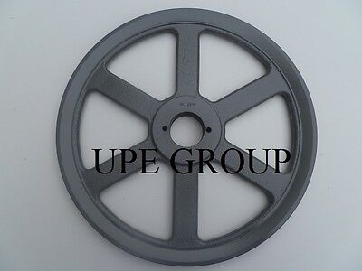 Cast Iron Pulley Sheave 12.25 For Electric Motor 1 Groove 3l 4l & A Belts