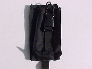 BLACK MOLLE RADIO / ACCESSORY POUCH 7 1/2