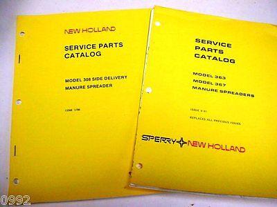 New Holland 308 363 367 Manure Spreader Manuals