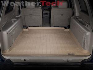 Weathertech Cargo Liner Chevrolet Suburban Large 2000 2006 Tan