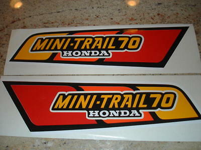1979 Honda Ct70 Gas Tank Decals Mini Trail