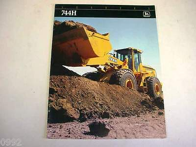 John Deere 744h Wheel Loader Brochure