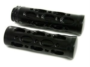 7-8-Black-Hand-Grips-for-honda-cbr-suzuki-gsxr-600-1000-kawasaki-yamaha-r1-r6