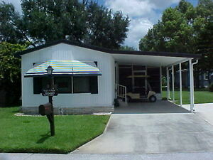 Florida 2 Bedroom Mobile Home In Gated Golf Community