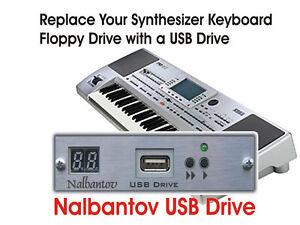 USB Floppy Disk Drive Emulator Piano Yamaha Clavinova CVP 92/94/96/98/555