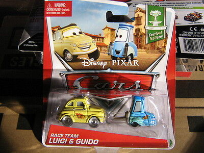 DISNEY PIXAR CARS FESTIVAL ITALIANO SERIES RACE TEAM LUIGI & GUIDO