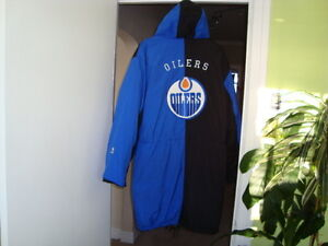 NHL OILERS  3 SEASON COAT WITH HOOD West Island Greater Montréal image 3