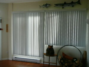 "vertical blinds 60"" (W) x 66"" (H)"